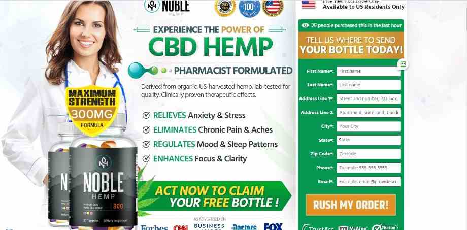 Noble CBD Gummies Review (Updated 2020) Best CBD Gummies For Sleep, Anxiety & Depression