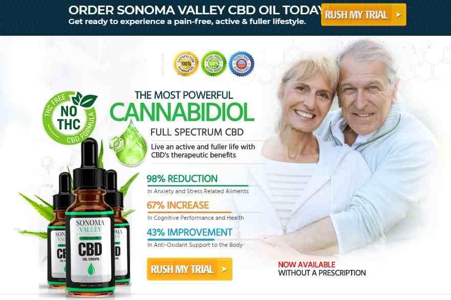 Sonoma Valley CBD Oil Reviews : Best CBD Oil For Pain, Sonoma Valley CBD Oil Free Trial  ORDER button
