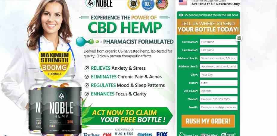 Noble Hemp Gummies Reviews