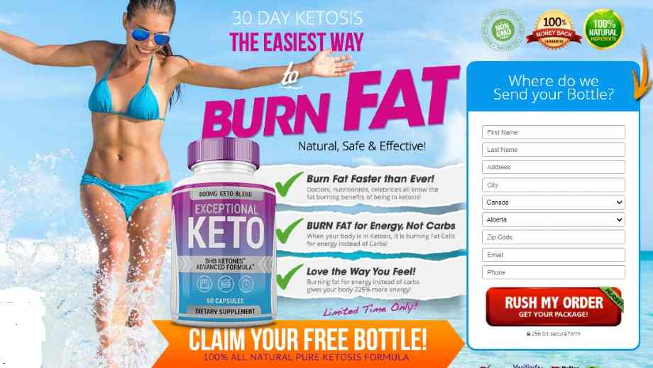 Exceptional Keto Reviews : Exceptional Keto Diet Canada WeightLoss Pills
