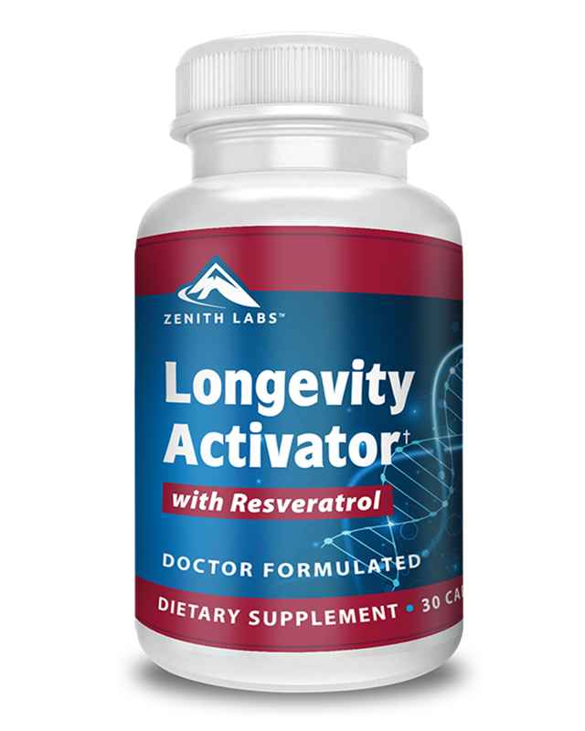 Longevity Activator Reviews : Zenith Labs Resveratrol Pill