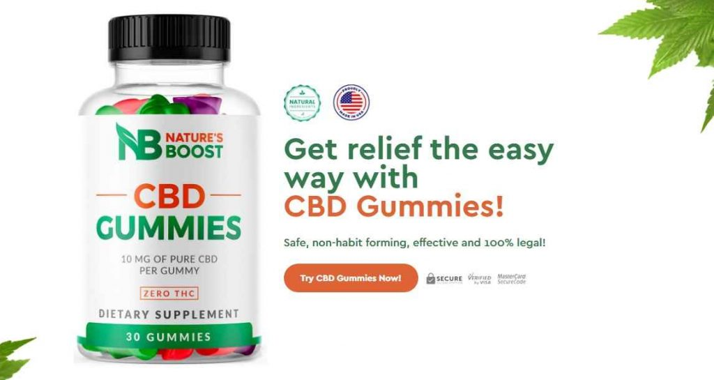 Natures Boost CBD Gummies Reviews : Prices & Where To Buy