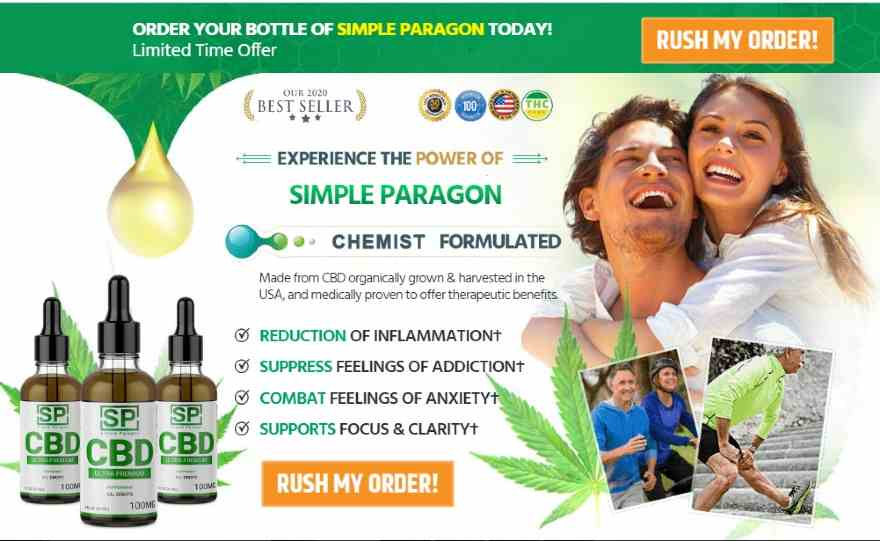 Simple Paragon CBD Oil Review |CBD Oil for Pain, Anxiety & Depression