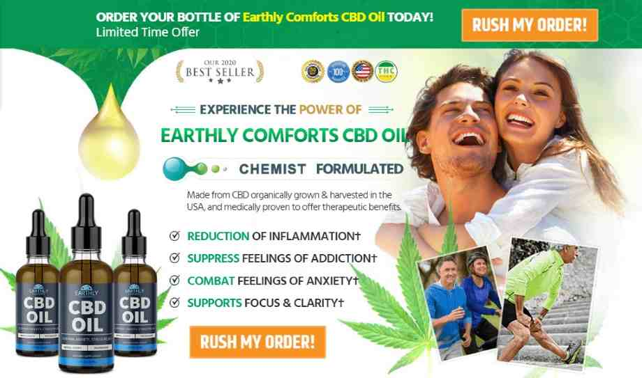 Earthly Comforts CBD Oil Review - cbd oil free trial, cbd order button