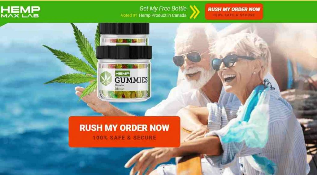 Hemp Max Lab Gummies Canada order