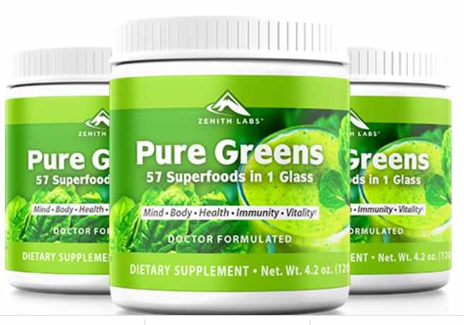 Pure Greens Reviews : - Zenith Labs Pure Greens