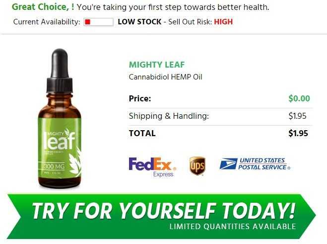 Mighty Leaf CBD  oil -CBD Side Effects