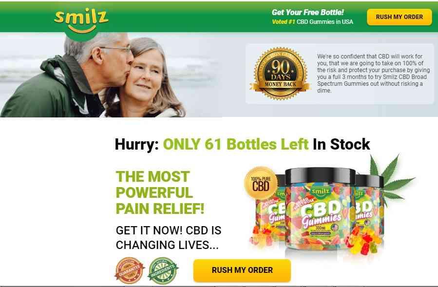 Smilz CBD Gummies Review, where to buy