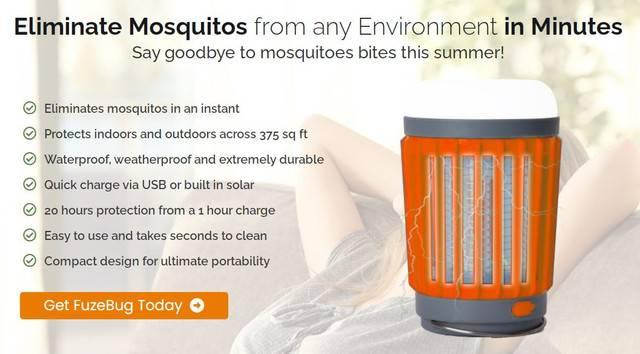 FuzeBug Reviews : Best Mosquito Repellent Lamp