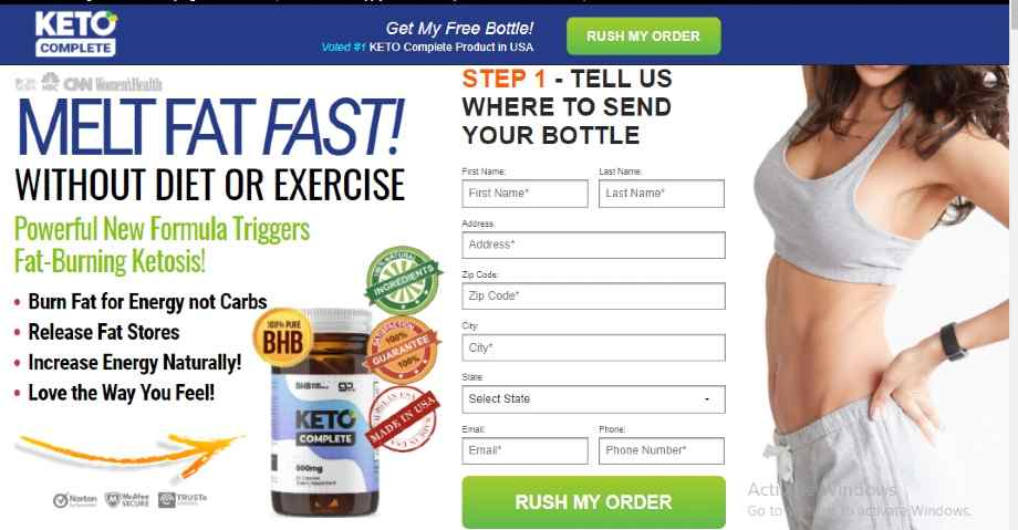 KETO Advanced - Lose Belly Fat Without Exercise And Dieting -