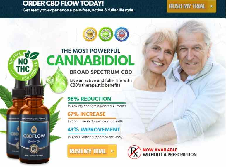 Flow CBD Oil Reviews : Best CBD Oil Free Trial Just Pay Shipping