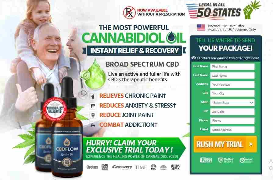 Flow CBD Oil Reviews : Best CBD Oil Free Trial